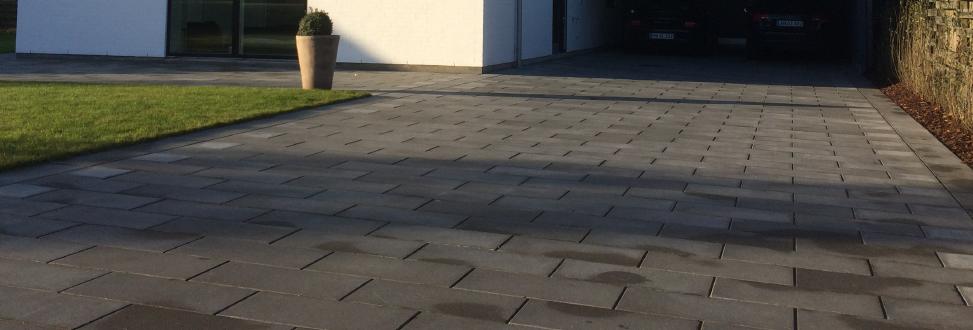 Belægning Holbæk, Odsherred, indkørsel af fliser