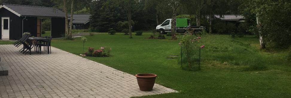 Vedligeholdelse af grønne områder Holbæk, Odsherred, fin have